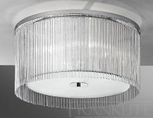 An image of a Eros 4 Light Semi Flush Ceiling Light in Polished Chrome